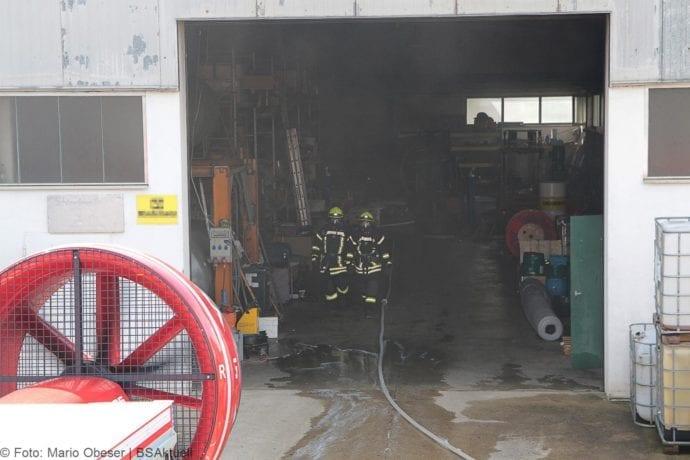 Brand in Halle Jettingen 08082019 1