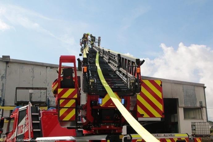 Brand in Halle Jettingen 08082019 10