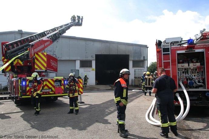 Brand in Halle Jettingen 08082019 3