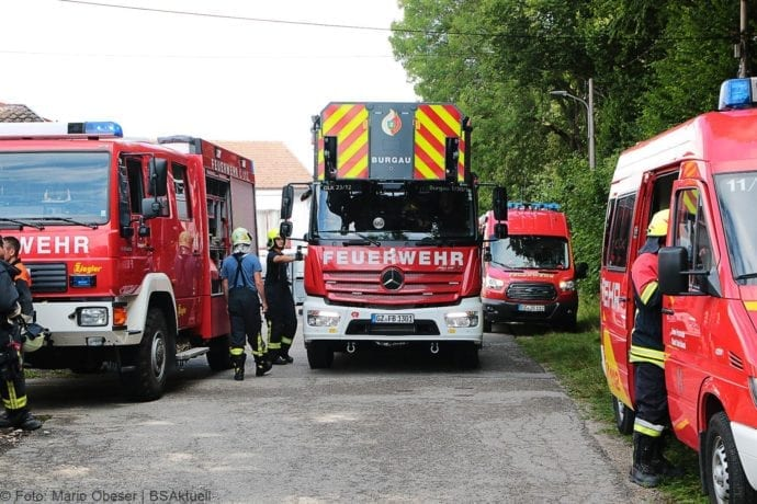 Brand in Halle Jettingen 08082019 5