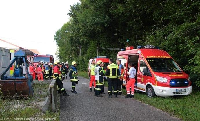 Brand in Halle Jettingen 08082019 6