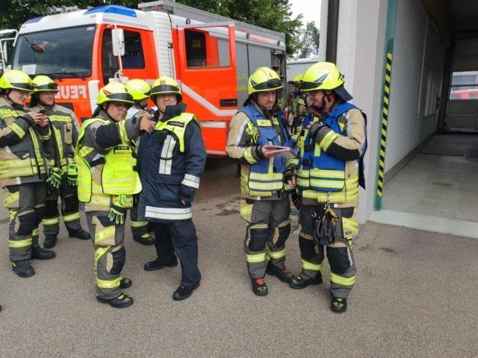 Feuerwehr Günzburg Dillingen Gefahrgut Fortbildung 2