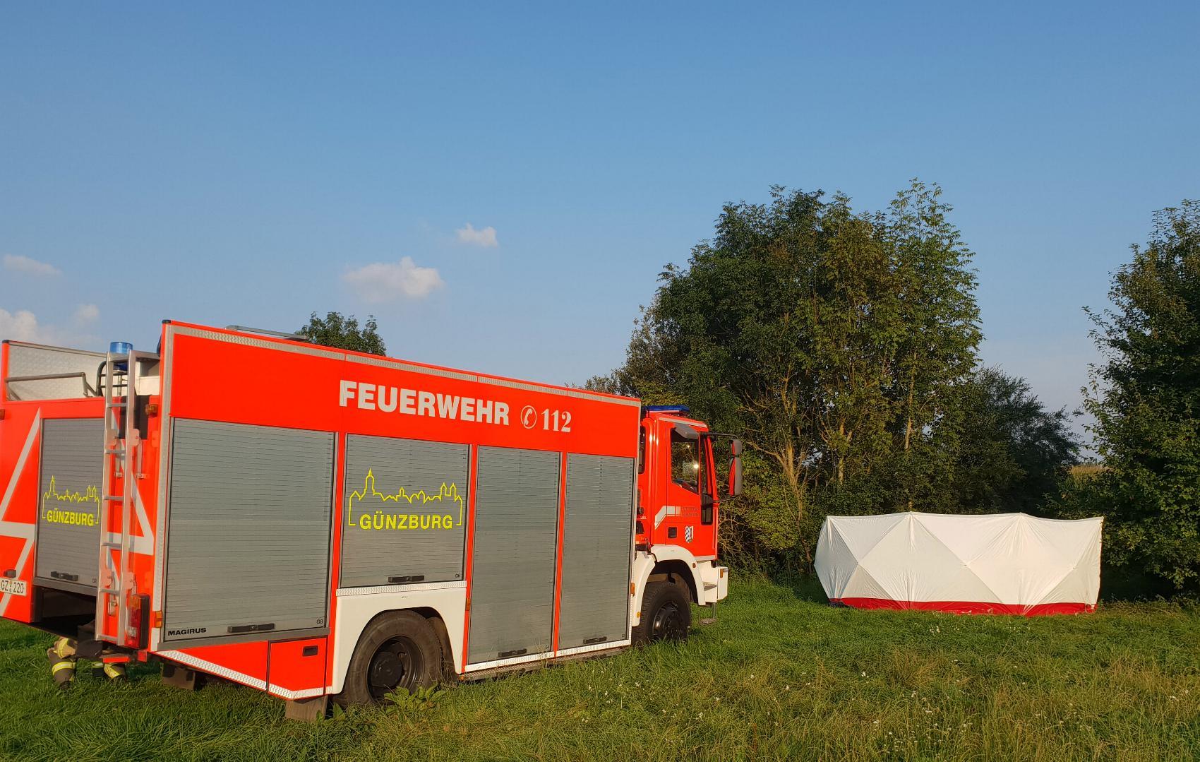 Günzburg Pferd stirbt – Reiterin verletzt 24082019 3