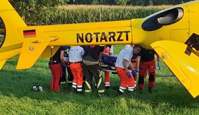 Günzburg Pferd stirbt – Reiterin verletzt 24082019 5