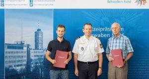 Lebensrettung Polizei Augsburg