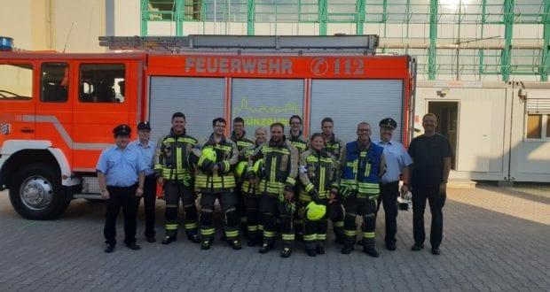 Leistungsprüfung Feuerwehr Günzburg THL August 2019 4