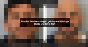 Memmingen-Häftlinge-geflohen2 Festnahme