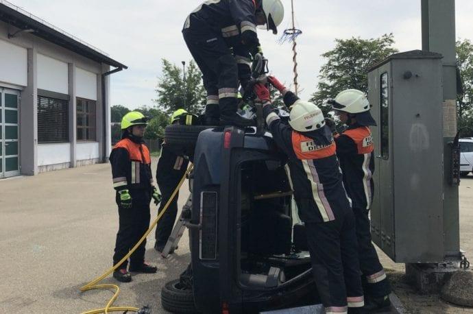 Technische Rettung Seminar Feuerwehr Günzburg Feuerwehr Dillingen 5