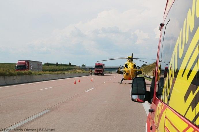 Unfall A8 Burgau-Günzburg 3 LKW 06082019 23