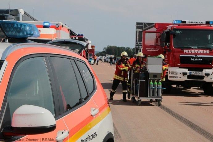 Unfall A8 Burgau-Günzburg 3 LKW 06082019 25