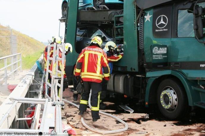 Unfall A8 Burgau-Günzburg 3 LKW 06082019 7