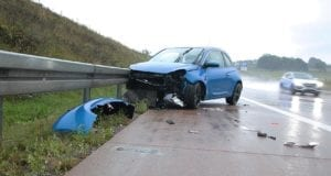 Unfall A8 Burgau-Günzburg Aquaplaning 10082019 1