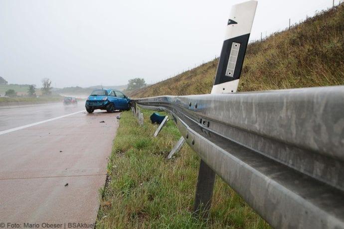 Unfall A8 Burgau-Günzburg Aquaplaning 10082019 2