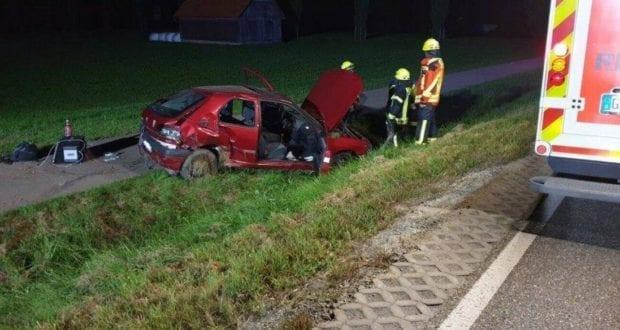 Unfall B16 Unterbleichen 28082019
