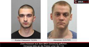BKH Günzburg Insassen geflohen 23092019