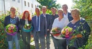 Dienstjubiläen Verabschiedung Guenzburg Dango Hermann Keilwerth Metzger