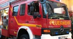 Feuerwehrfahrzeug Krumbach