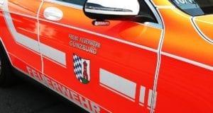 Feuerwehrfahrzeug seitlich Günzburg