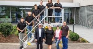 Günzburger Steigtechnik Ausbildungsjahr 2019