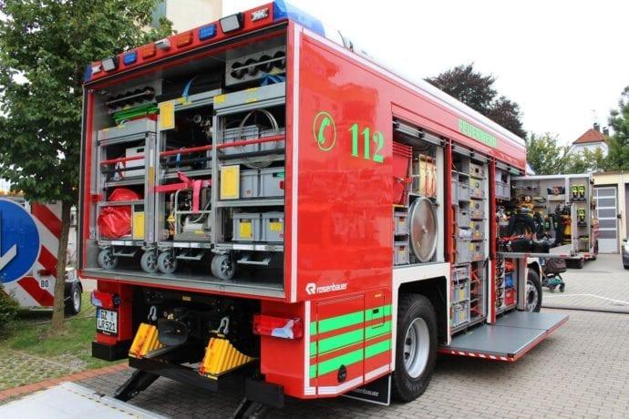 Gerätewagen Gefahrgut Feuerwehr Günzburg – Gartenfest 2019