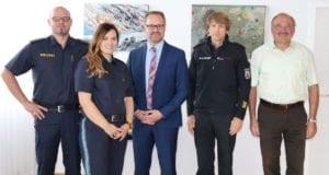 Polizeirätin Michaela Baschwitz bei LR Freudenberger 09.09.2019