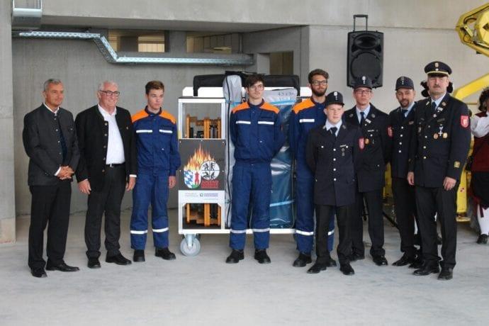 Rollcontainer Nachwuchswerbung Steigtechnik Günzburg Feuerwehr Günzburg
