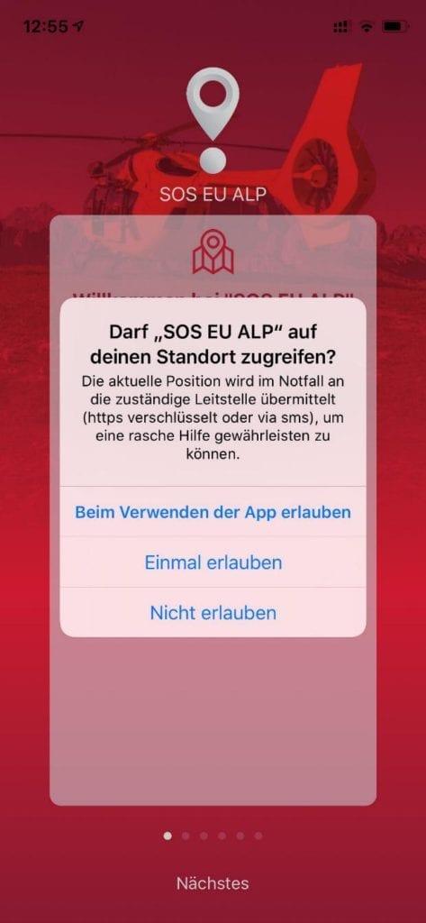 SOS EU ALP 1