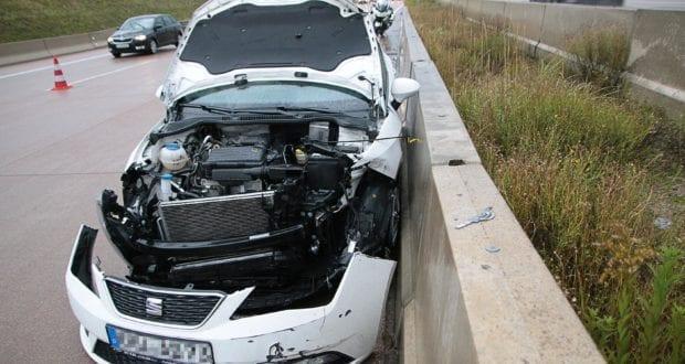 Unfall A8 Burgau Aquaplaning 27092019 6