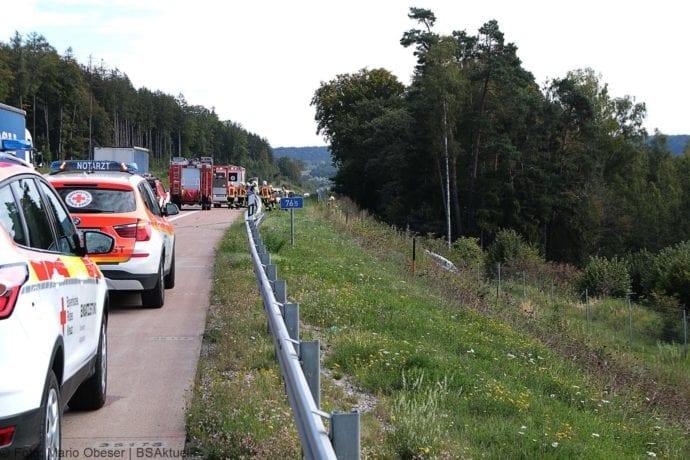 Unfall A8 Burgau-Zusmarshausen 12092019 30