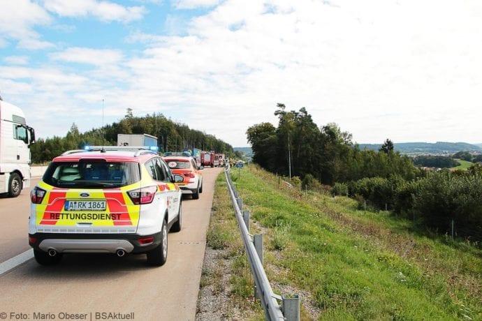 Unfall A8 Burgau-Zusmarshausen 12092019 31
