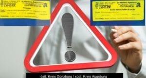 Warnung-Ausrufezeichen Arzneimittel