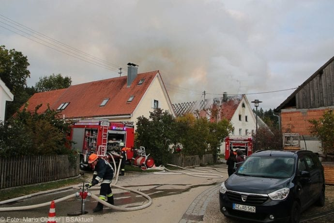 Brand Bibertal-Ettlishofen Gebäude 04102019 1