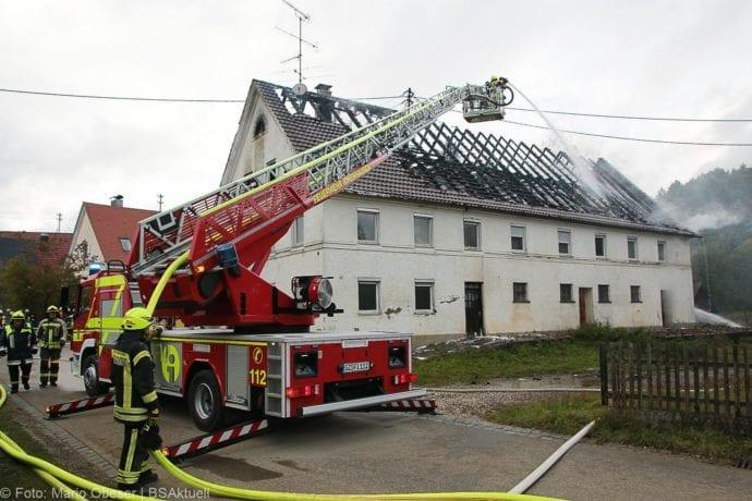 Brand Bibertal-Ettlishofen Gebäude 04102019 33
