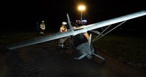 Bruchlandung Leichtflugzeug Bad Wörishofen 11102019 4