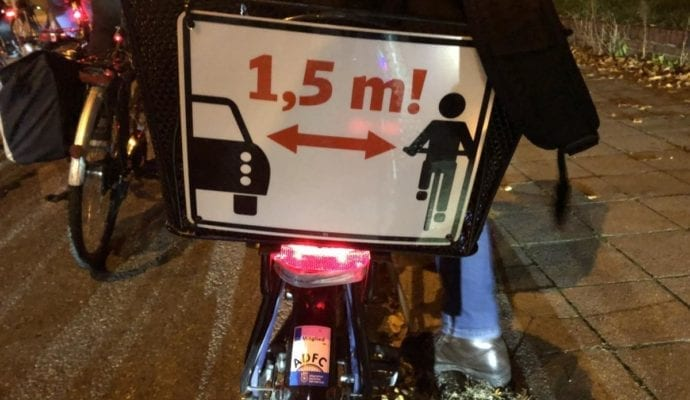 Critical Mass Ulm Fahrraddemo 1