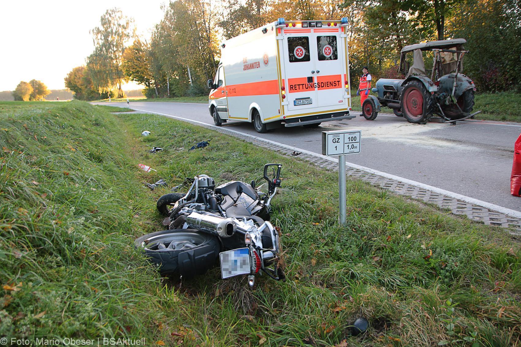 Stoffenried Unfall Motorrad Traktor 14102019 6