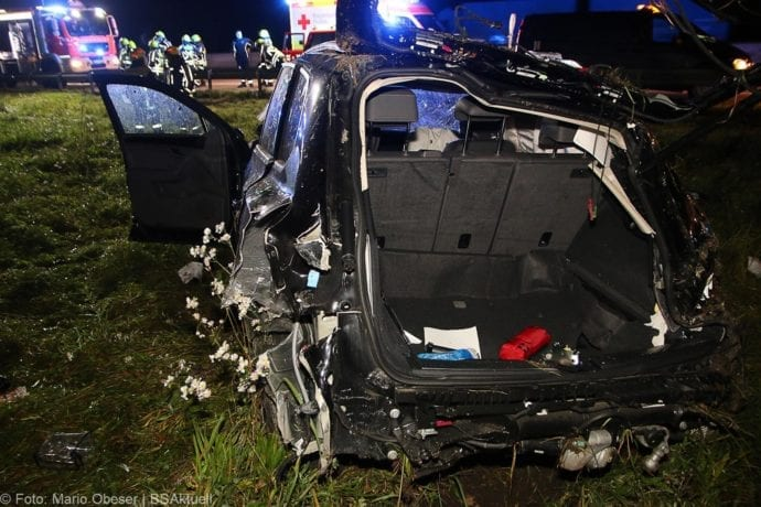 Unfall A8 Burgau-Zusmarshausen SUV überschlagen 07102019 12