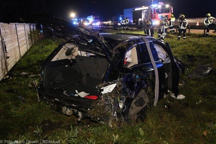 Unfall A8 Burgau-Zusmarshausen SUV überschlagen 07102019 13