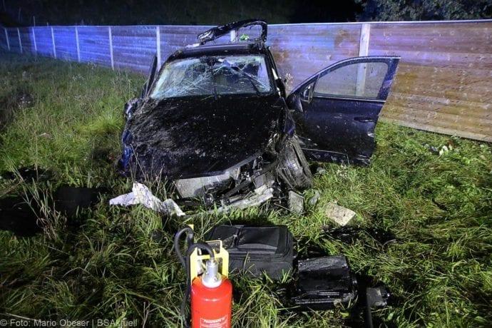 Unfall A8 Burgau-Zusmarshausen SUV überschlagen 07102019 16