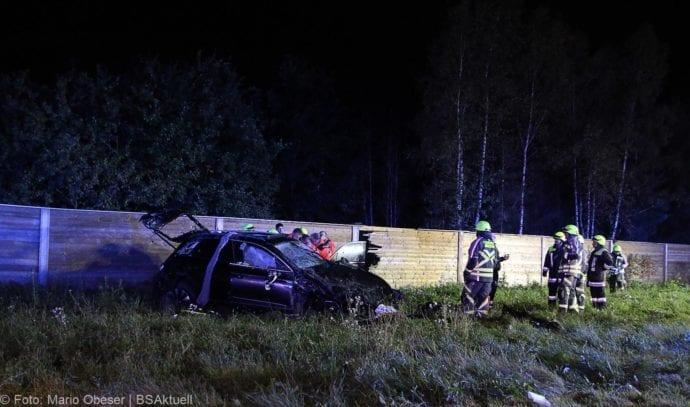 Unfall A8 Burgau-Zusmarshausen SUV überschlagen 07102019 6
