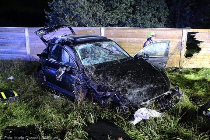Unfall A8 Burgau-Zusmarshausen SUV überschlagen 07102019 7