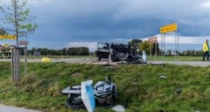 Wiedergeltingen Unfall Pkw Motorrad 01102019 1