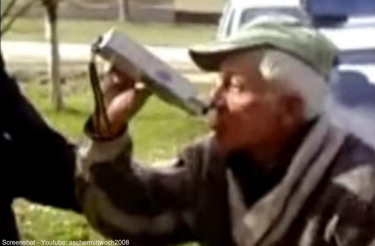 Betrunkener Alkomat