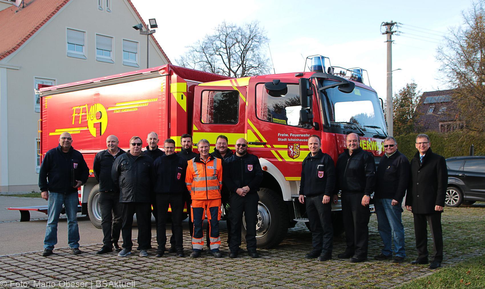 Feuerwehr Ichenhausen Versorgungs-LKW 14112019 18