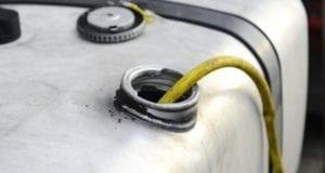 Diesel aus Tank abgezapft