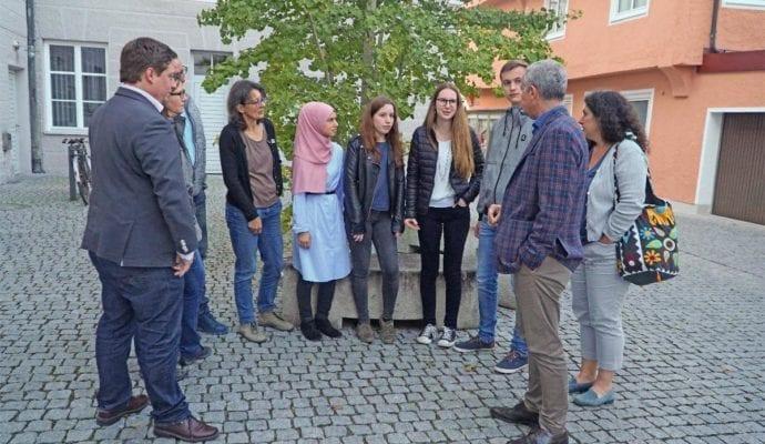 Guenzburg Fridays For Future_Gespräch