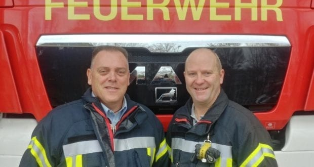 Kommandantenwahl 2019 Feuerwehr Neu-Ulm