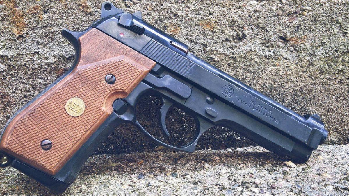Pistole Schreckschuss