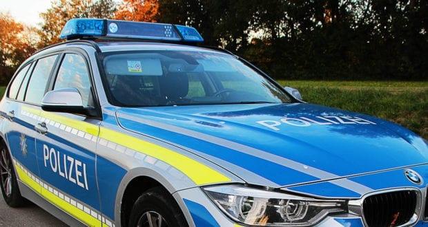 Polizeifahrzeug Fahrbahn