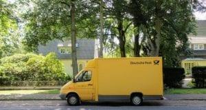 Postfahrzeug Post